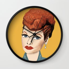 Lucille Ball Wall Clock
