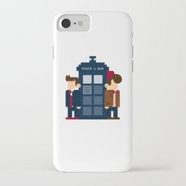Doctor Who 10th & 11th iPhone Case
