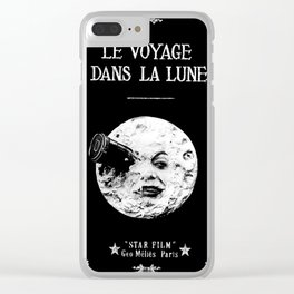 A Trip To The Moon Georges Méliès Clear iPhone Case