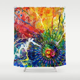 """""""He Has Made Everything Beautiful"""" Shower Curtain"""