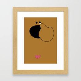 あっかんべぇ Framed Art Print