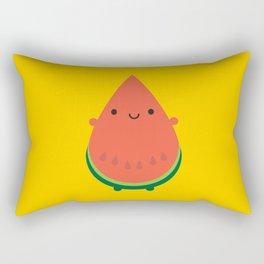 Kawaii Watermelon Rectangular Pillow