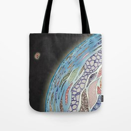 Silence and tranquility Tote Bag