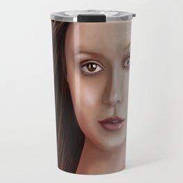 Summer Glau - The girl with the beautiful face Travel Mug