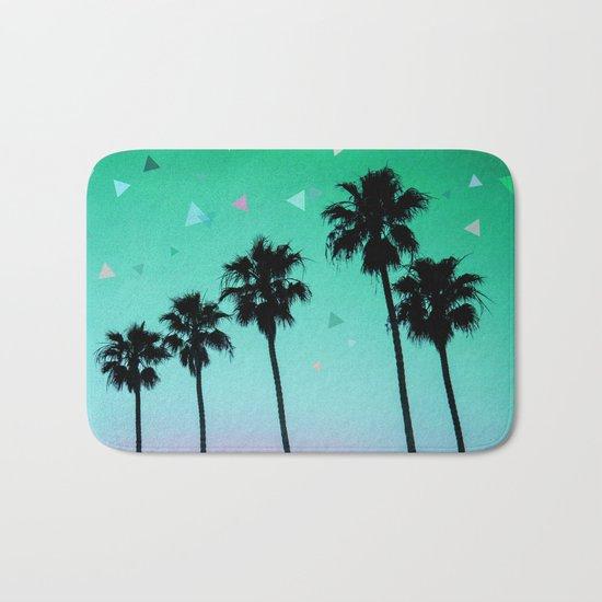 Palm Trees 4 Bath Mat