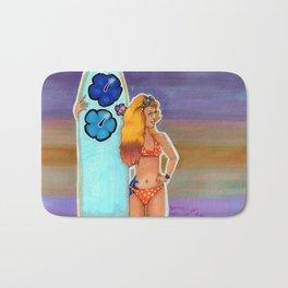 Surfer Girl Bath Mat