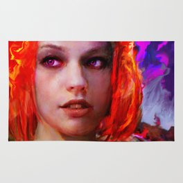 the fifth element Rug