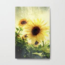 Sunflower Art 1 Metal Print