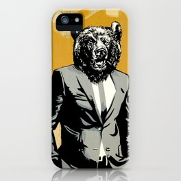 Bear Market iPhone Case