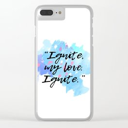 Shatter Me Clear iPhone Case