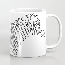 Stunning Black and White Zebra Coffee Mug