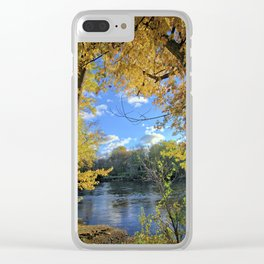 Autumn Banks 2 Clear iPhone Case