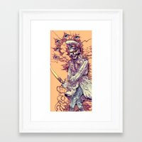 occult Framed Art Prints featuring Occult Trench by Witnesstheabsurd