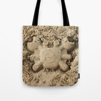 crab Tote Bags featuring crab by Кaterina Кalinich