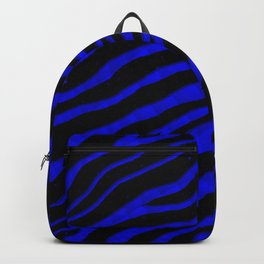 Ripped SpaceTime Stripes - Blue Backpack