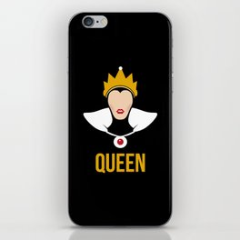 Distorted Dizney: Evil Queen iPhone Skin