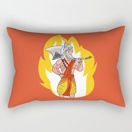 Dashavatar 6 - Parashurama Rectangular Pillow