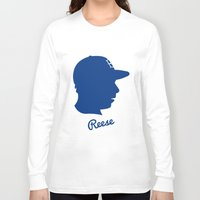 pee wee Long Sleeve T-shirts featuring Pee Wee Reese by Eric J. Lugo