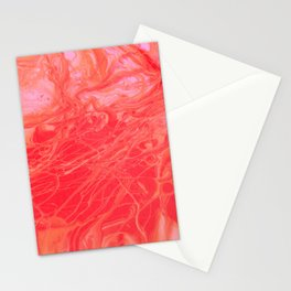 Paint Pouring 2 Stationery Cards
