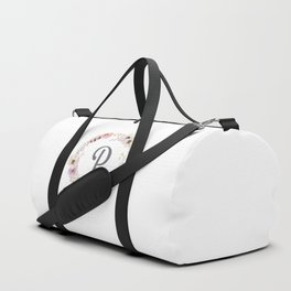 Floral Wreath - P Duffle Bag