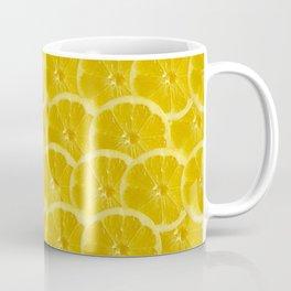 Lemon Pattern Coffee Mug