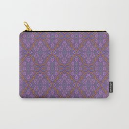 Nocturnal flowers, floral arabesque Carry-All Pouch
