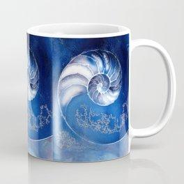 Nautilus Shell 3 by Kathy Morton Stanion Coffee Mug