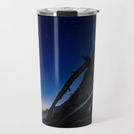 Beach Landscape - Stars, Sand and Sky Travel Mug
