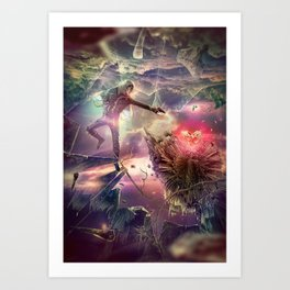 The Heart of Darkness Art Print
