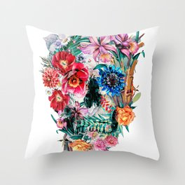 Momento Mori VI Throw Pillow