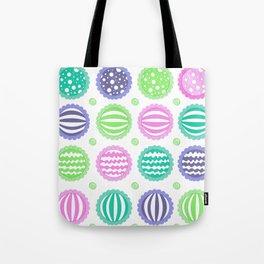 Sugar Treats Pattern Print Tote Bag