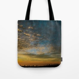 Viewing the Sunset Tote Bag