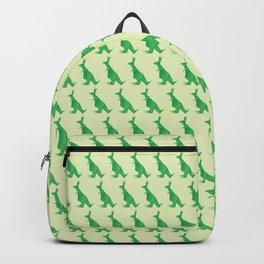 I Want Chocolate - Origami Green Kangaroo Backpack