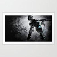 metal gear Art Prints featuring Metal Gear by Hisham Al Riyami