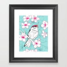 Uni-Chicka-Pecker Framed Art Print