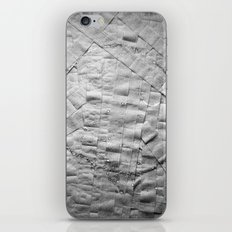 Smile on toilet paper iPhone Skin