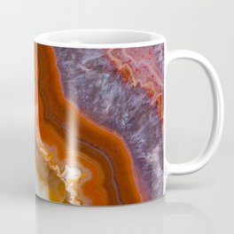 Rusty Amethyst Agate Coffee Mug