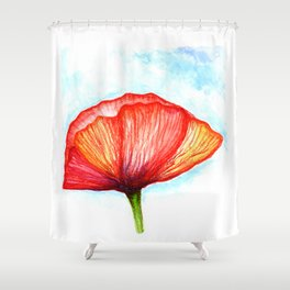 Papaver II Shower Curtain