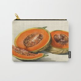 Vintage Vector Style Thanksgiving Pumpkin Slices  Carry-All Pouch