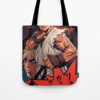 manga Tote Bags featuring Manga 02 by Zuno