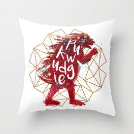 Pukwudgie Throw Pillow