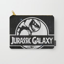 Jurassic Galaxy - White Carry-All Pouch