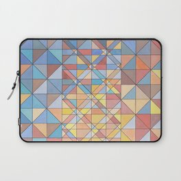 Triangle Pattern no.16 Pastels Laptop Sleeve