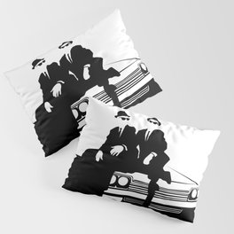 Blues Brothers Pillow Sham