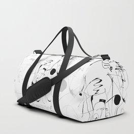 Matador - b&w Duffle Bag