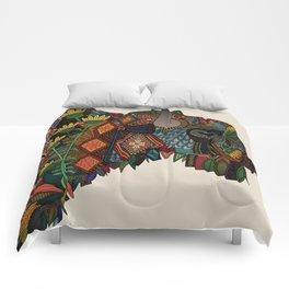 bison bone beige Comforters