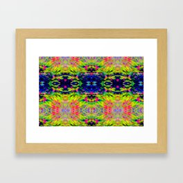 2705 Pattern by hedge Framed Art Print