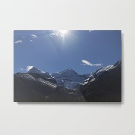 Mountains of Maligne Lake 6 Metal Print