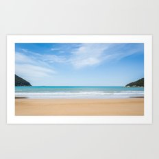 Beach Panorama Art Print