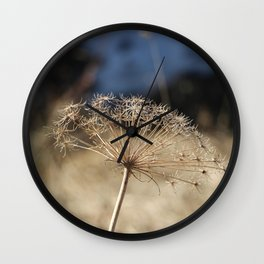 Nature in the French Alps Wall Clock